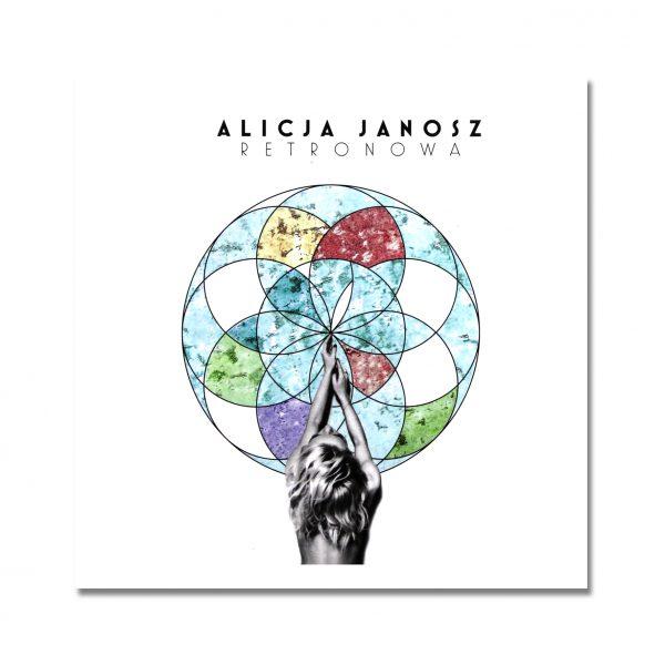 Alicja Janosz - Retronowa - płyta cd - okładka - front