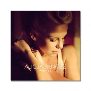 Alicja Janosz - VINTAGE - płyta - okładka - front