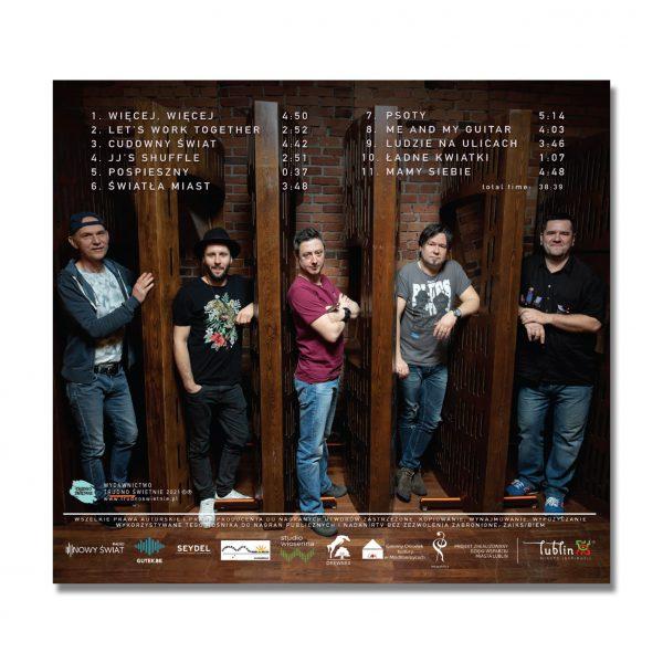 """JJBAND """"2011"""" (Płyta CD) - Okładka Tył"""